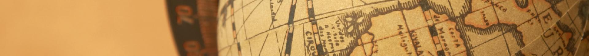 Immagine di un mappamondo